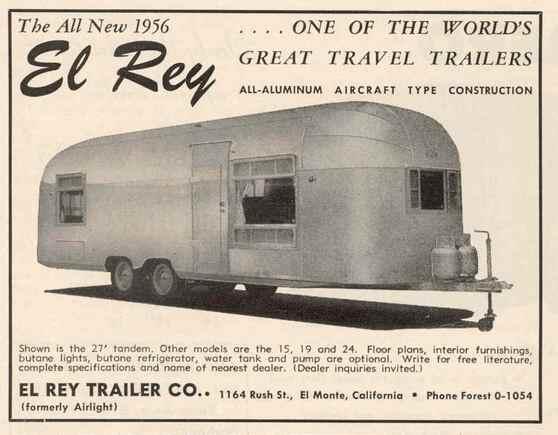 Airlight Amp El Rey Vintage Airstream