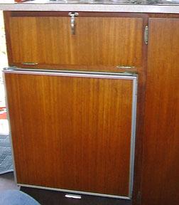 Refrigerator Replacement & Repair - Vintage Airstream