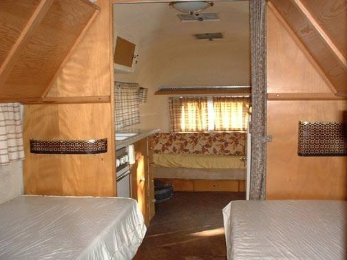 Bunkbeds Vintage Airstream