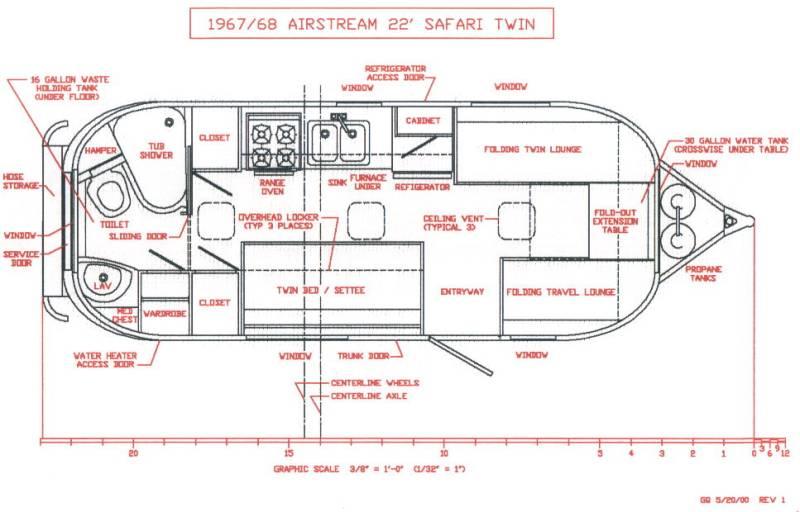 1968 Safari 22 Vintage Airstream