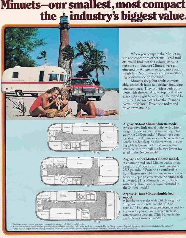 1979 Argosy Minuet 22 Vintage Airstream