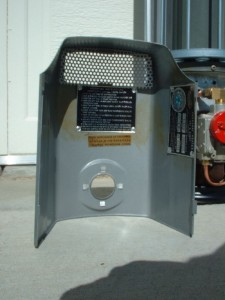 Panel Ray Heaters Vintage Airstream