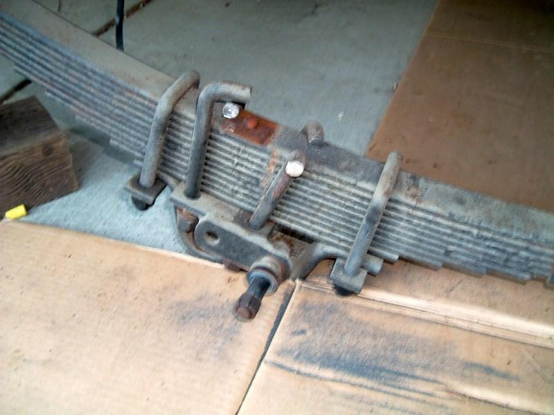 Rebuilding A Leaf Spring Axle Vintage Airstream