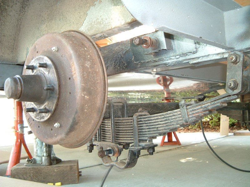 Model The Exercise Of Flipping RV Axles Leveled Our Rig Back Out And