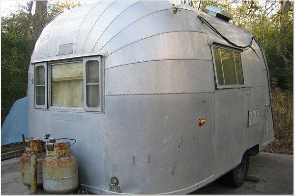 1955 Bubble 16 X251 Vintage Airstream