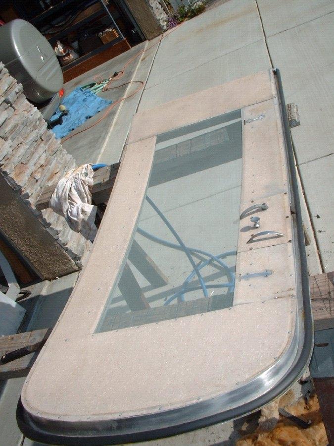 Overhauling the Door - Vintage Airstream