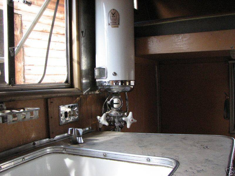 Vaillant Water Heaters Vintage Airstream