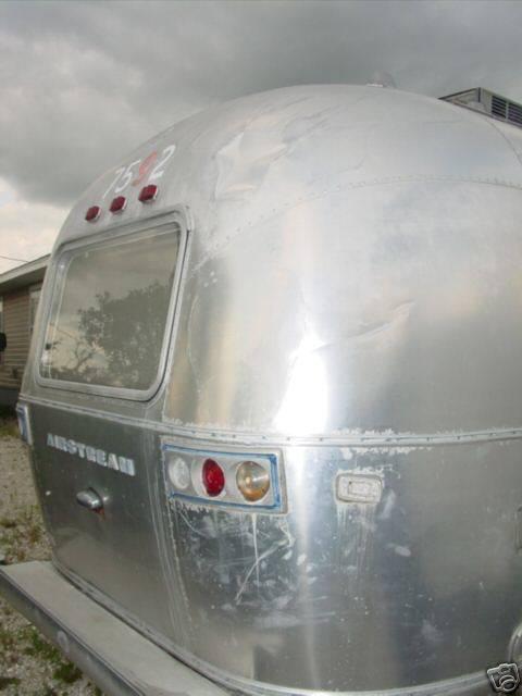 Aluminum Travel Trailers >> 1973 Globetrotter 21' - Vintage Airstream