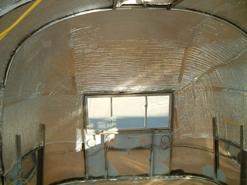 Insulation Vintage Airstream