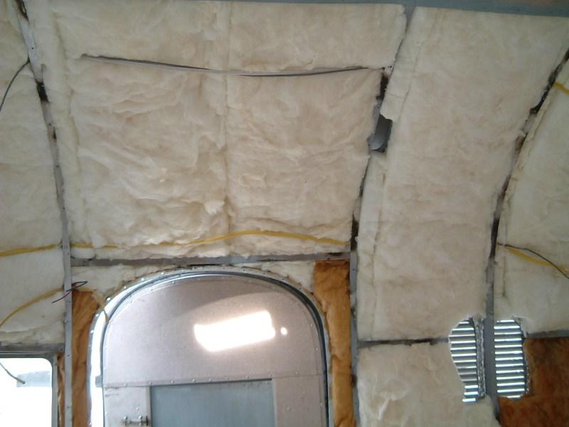 Insulation Vintage Airstream
