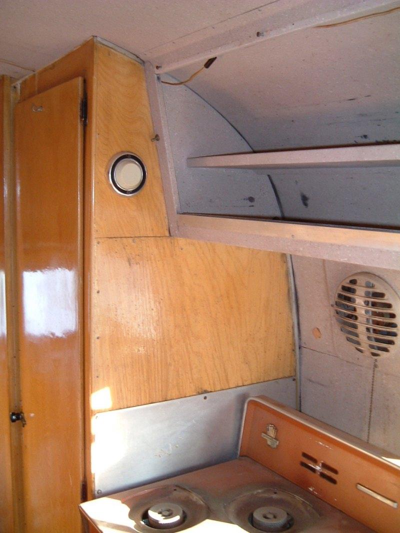Interior Cabinets Vintage Airstream