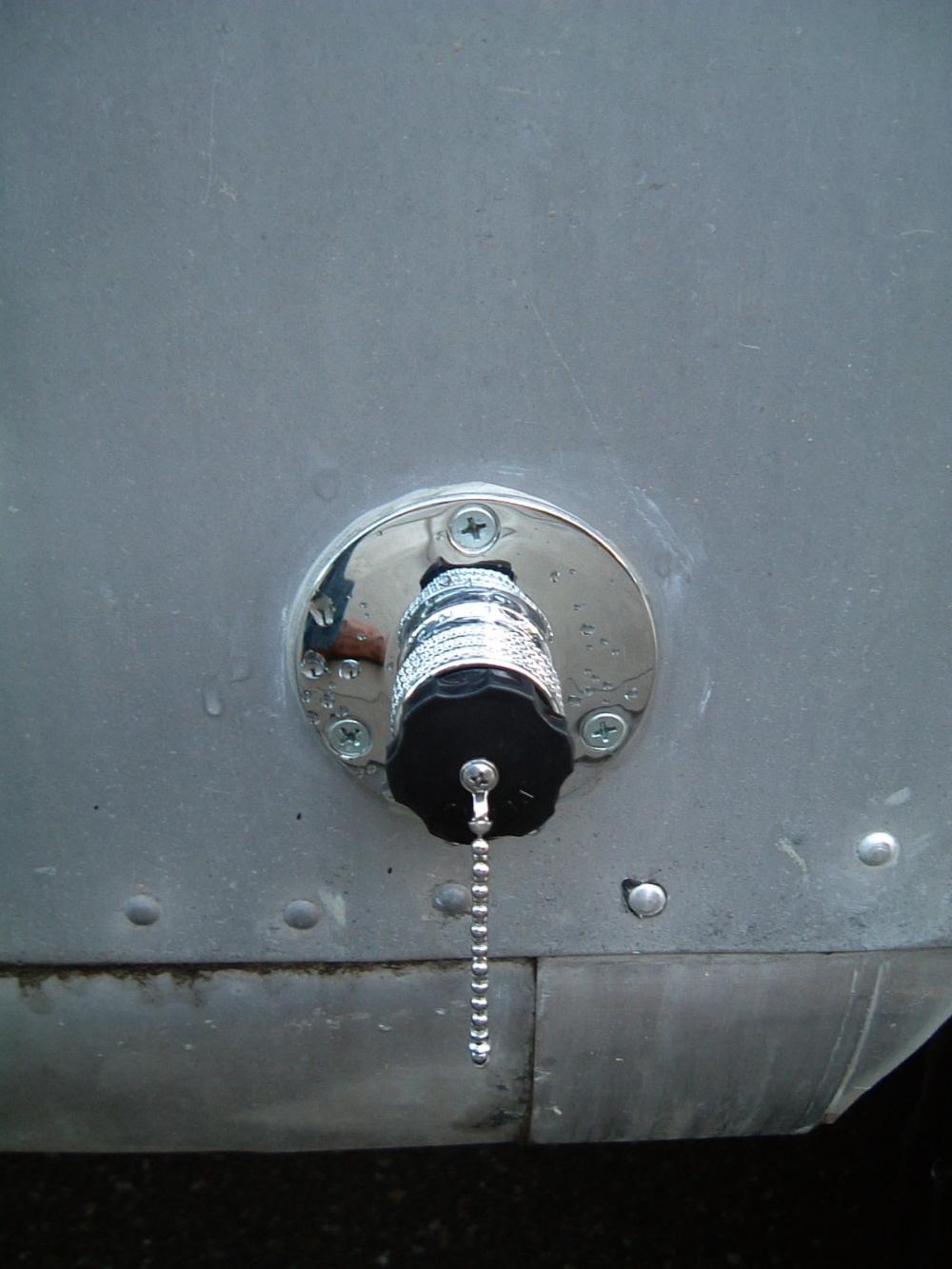 Plumbing Vintage Airstream