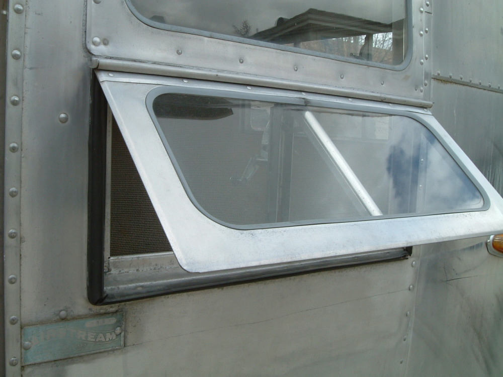 Window Repair 1954 1958 Vintage Airstream