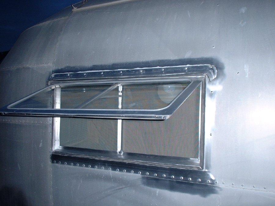 Window Repair 1954 1958 Vintage Airstream