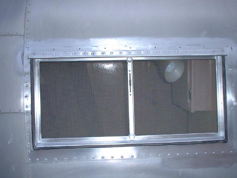 Window Repair-1954-1958 - Vintage Airstream